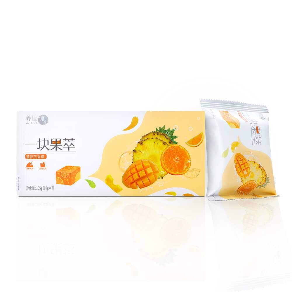 养固健牌一块果萃(菠萝芒果橙)