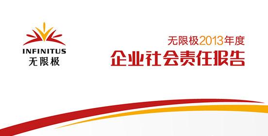 《注册送体验金平台2013年度企业社会责任报告》正式发布