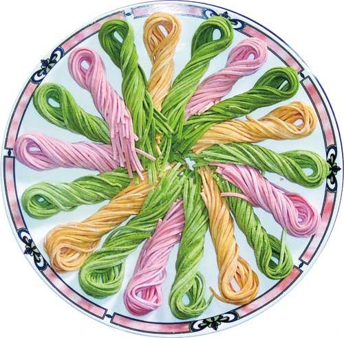 美食简笔画彩色