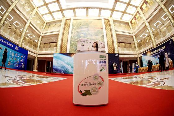 享优乐空气净化器现身北京公益盛典
