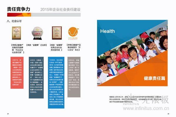 无限极2015年度责任报告发布3