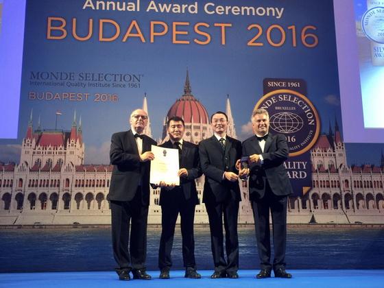 六款產品榮獲國際品質評鑒組織頒發的獎項