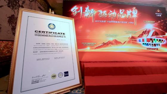 2017《中国500最具价值品牌》yzc889品牌分享会
