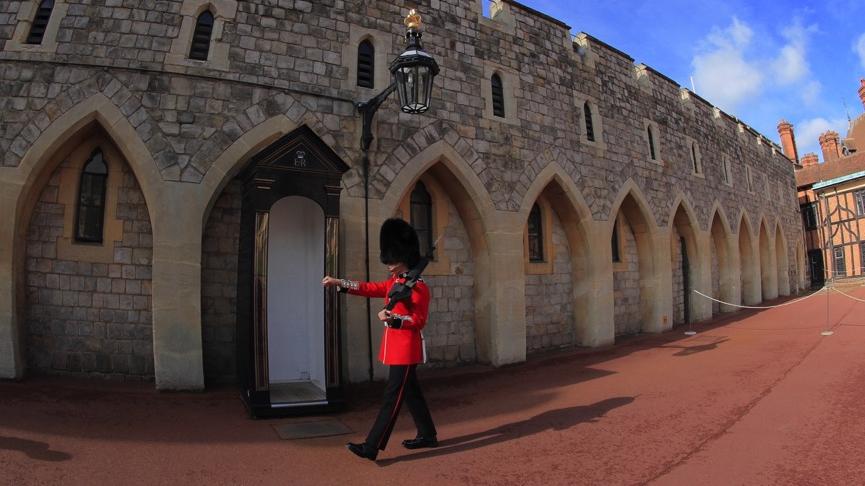 在英伦,华彩之旅的伙伴们当了一次真正的贵族!