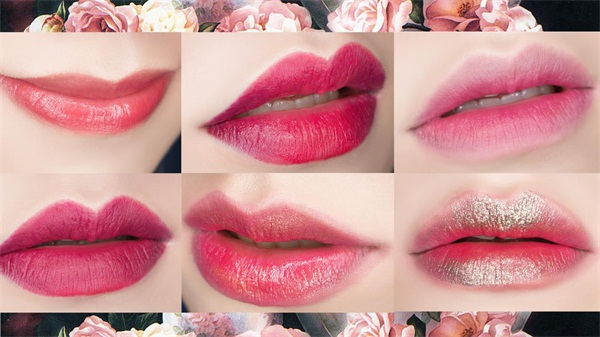 又可以订货啦,一款唇膏画出6种唇妆!