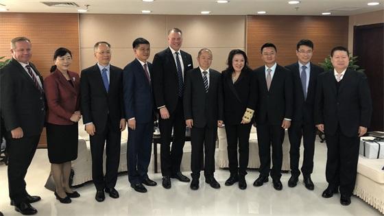菲律宾娱乐与世界直销协会联盟成员一同拜会国家工商总局领袖