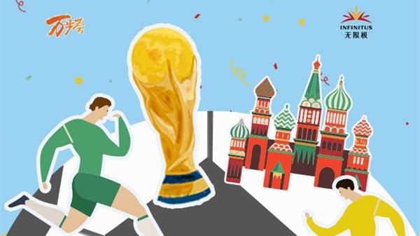 玩转世界杯为八强打Call,2018万步荟运动趣味来袭!