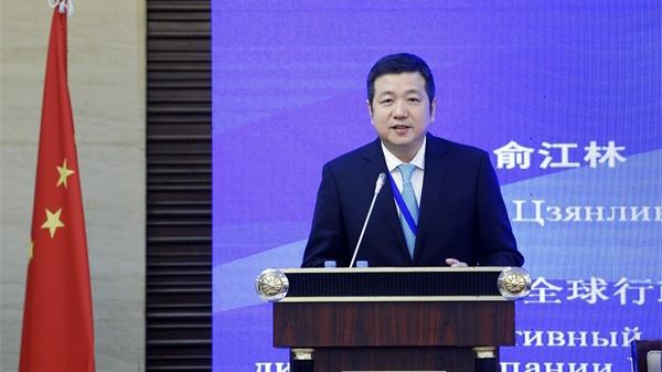 """俞江林行政总裁:把握""""一带一路""""机遇,推动中哈人文交流与健康合作"""