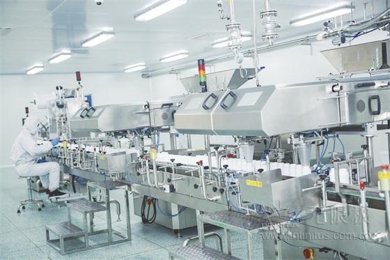 高科技的固体制剂生产车间