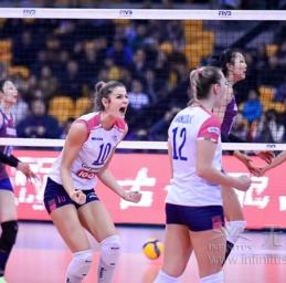 无限极赞助的2019女排世俱杯正式开赛