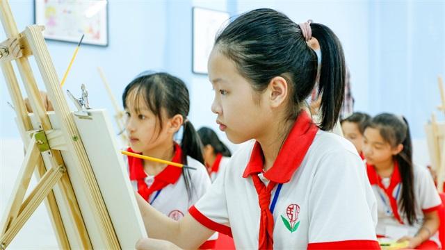 """5分极速快乐8捐建的第七所""""童梦阅读空间""""落成"""