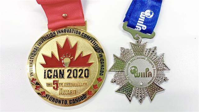 立邁健獲2020年加拿大國際發明創新競賽雙獎!