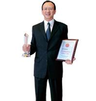 """李惠森董事長獲""""2009中國企業最具創新力十大領軍人物""""稱號"""