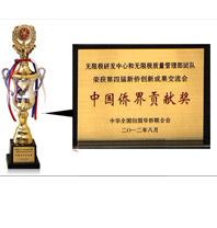 """我司榮獲""""中國僑界貢獻獎(創新團隊獎)"""""""